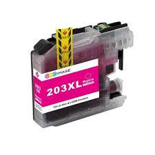 Brother LC-203XL LC203XL LC 203XL Compatible Ink Magenta Hi-Yi