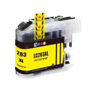 Brother LC-203XL LC203XL LC 203XL Compatible Ink Yellow Hi-Yi