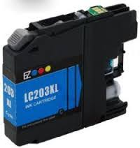 Brother LC-203XL LC203XL LC 203XL Compatible Ink Cyan Hi-Yi
