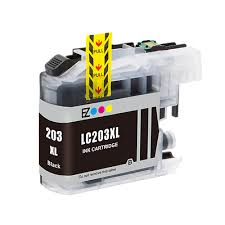 Brother LC-203XL LC203XL LC 203XL Compatible Ink Black Hi-Yi