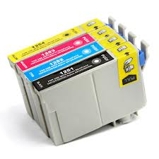 Epson 125 Ink Cartridge NX125 NX127 NX420 320 323 Full Set KCMY